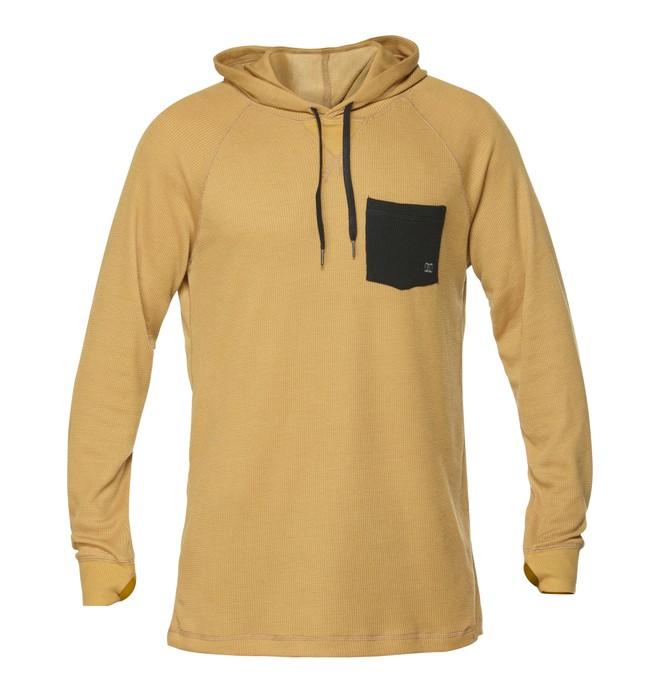 0 Men's Filthy Thermal Hoodie  EDYLW00004 DC Shoes