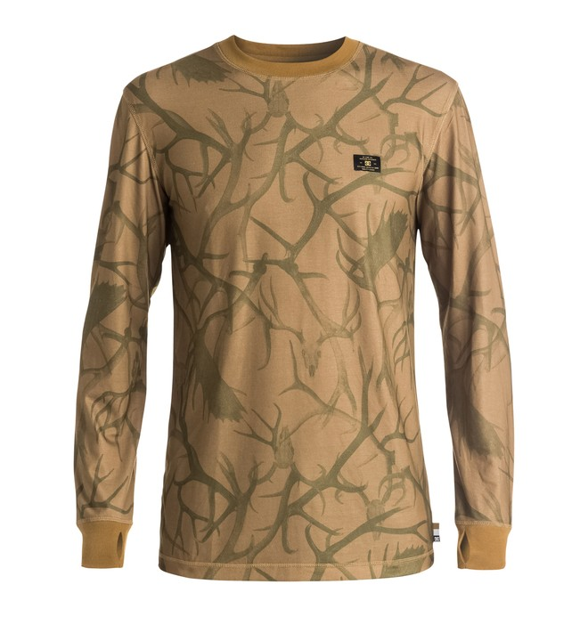 0 DC - Base Layer Top Brown EDYLW03004 DC Shoes