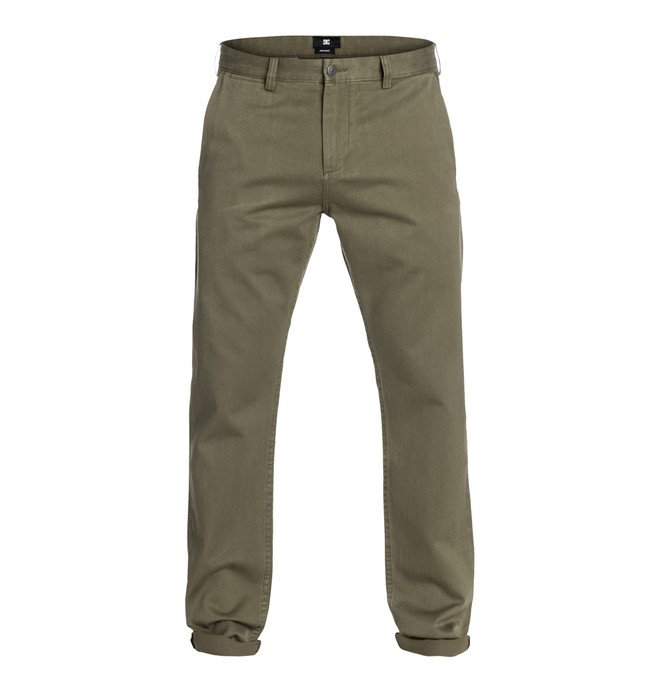 DC SElvedge Taper Chino 32 Marron EDYNP03002
