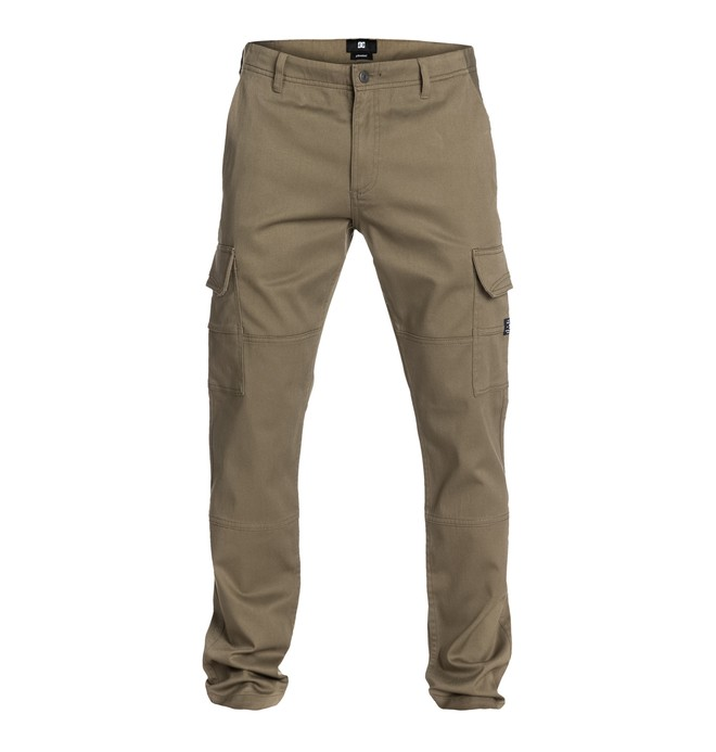 DC Worker Tapered Cargo Pant 32 Marron EDYNP03007