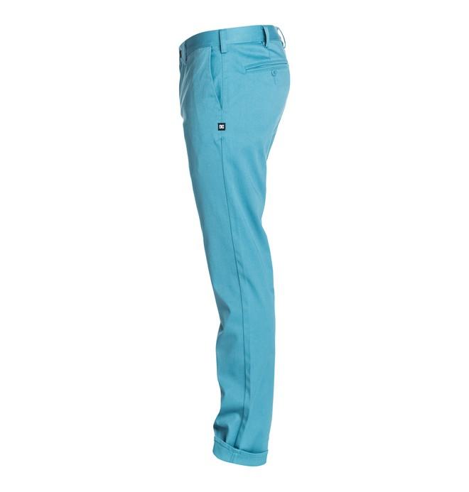 "0 DC Worker Slim 30"" Inseam   Pants  EDYNP03017 DC Shoes"
