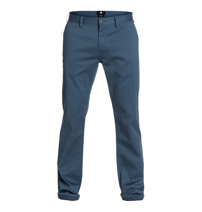 "0 DC Worker Straight 30"" Inseam Pants  EDYNP03019 DC Shoes"
