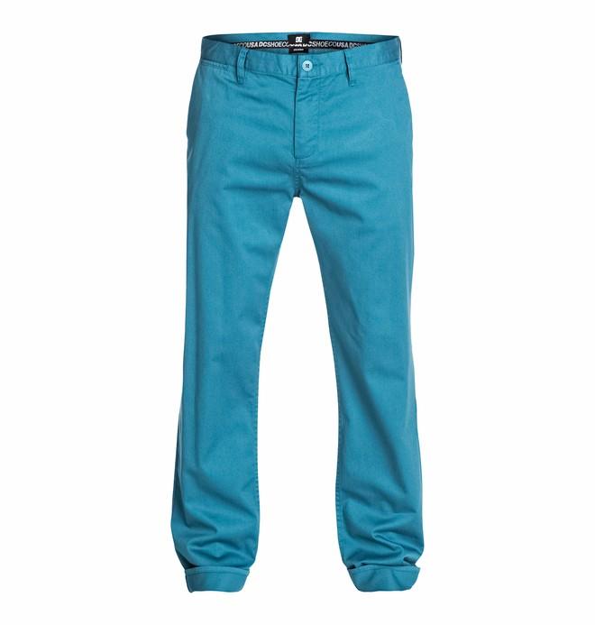 "0 Men's Straight 34"" Chino Pants  EDYNP03048 DC Shoes"