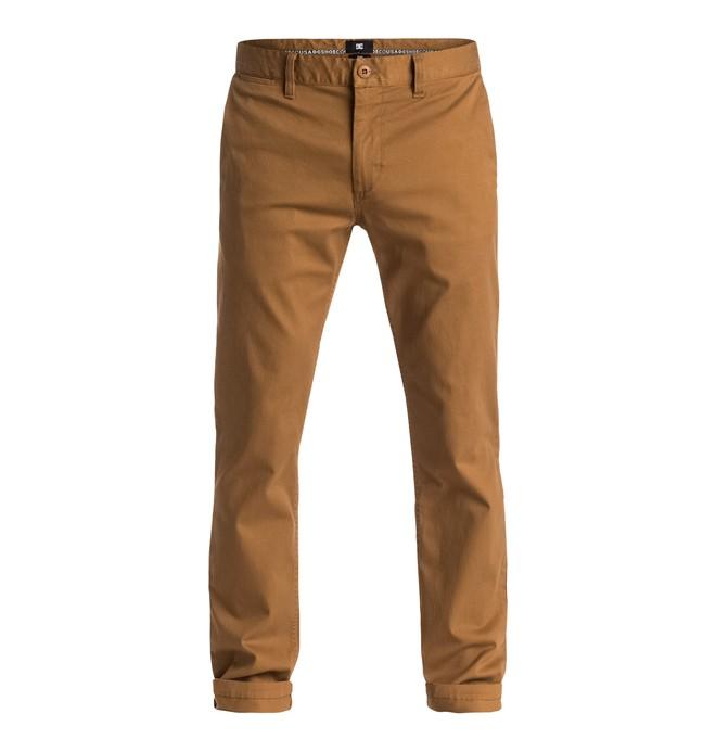 "0 Worker Slim Fit 32"" - Pantalon Orange EDYNP03105 DC Shoes"