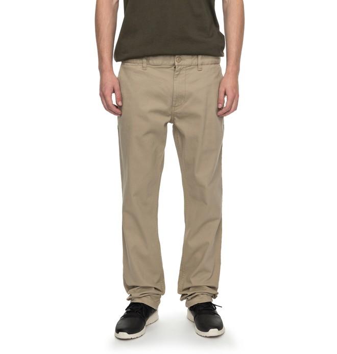 "0 Worker Slim Fit 32"" - Pantalon Beige EDYNP03105 DC Shoes"