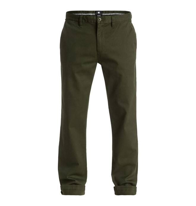 """0 Worker Straight Fit Chino 32"""" - Shorts Brown EDYNP03107 DC Shoes"""
