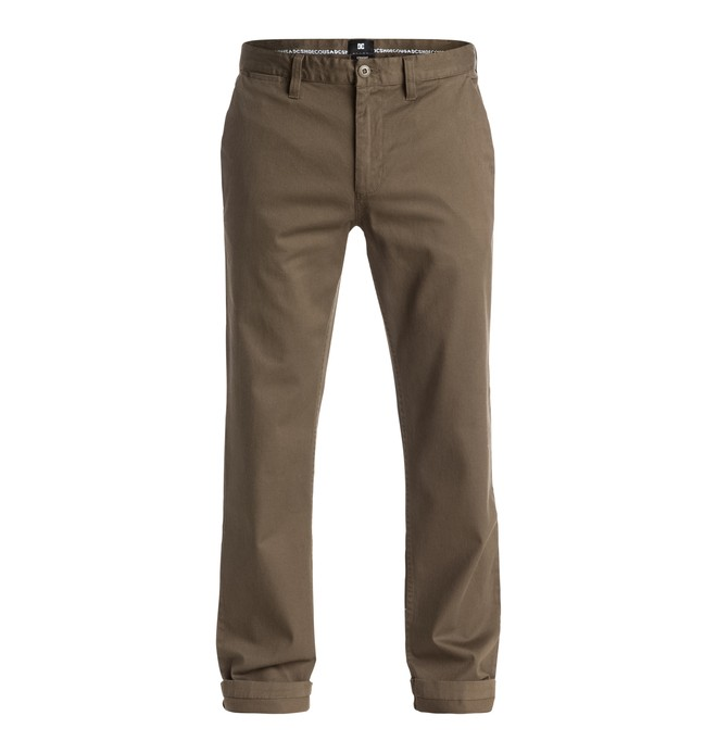 "0 Worker Straight 32"" - Chinos Beige EDYNP03107 DC Shoes"