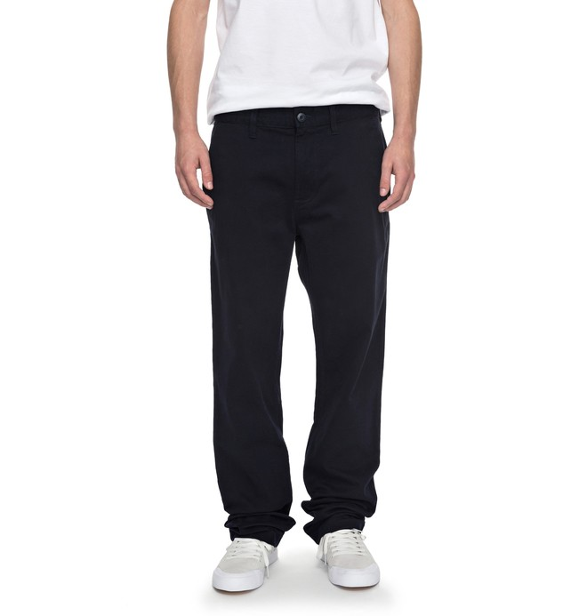 """0 Worker Straight 32"""" - Chinos Blue EDYNP03107 DC Shoes"""