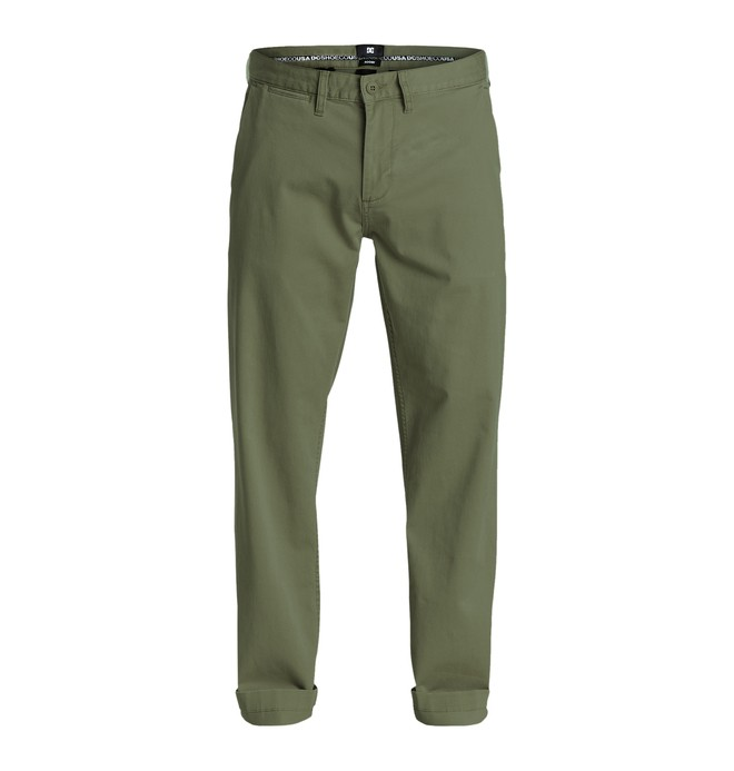 "0 Men's Worker Roomy Chino 32"" Pants  EDYNP03109 DC Shoes"