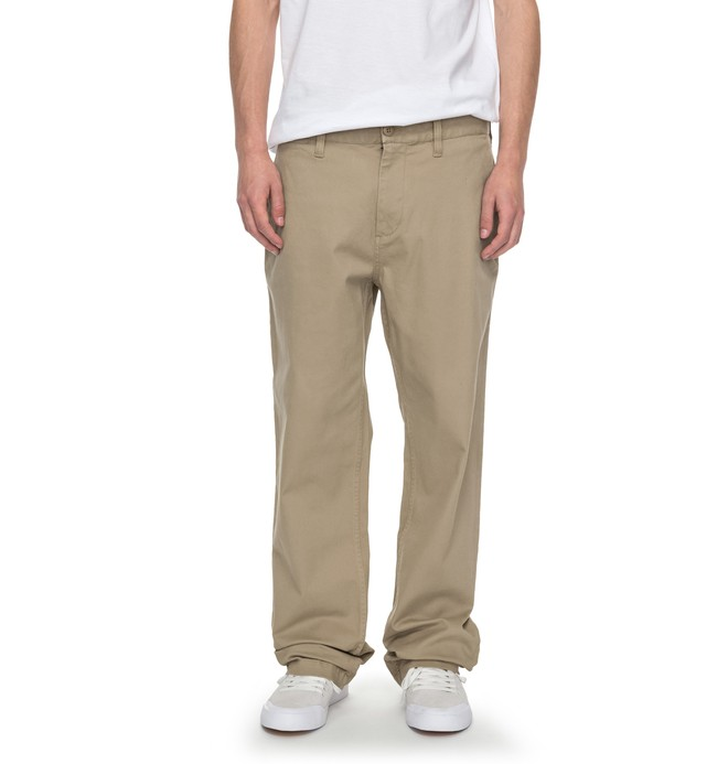 0 Worker Relaxed - Chinos Beige EDYNP03119 DC Shoes