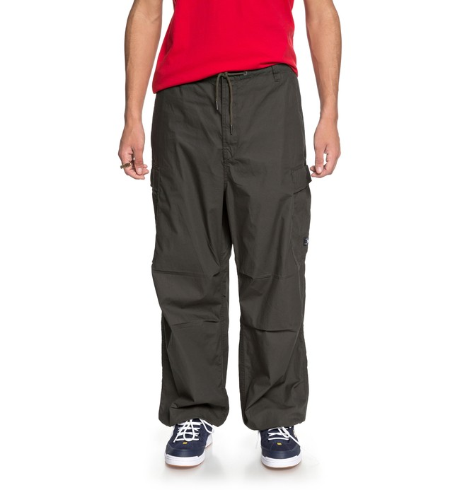 0 Men's Trueper Parachute Pants Brown EDYNP03127 DC Shoes