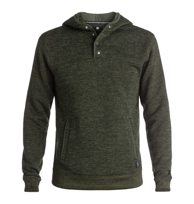 0 Gisborne - Henley Hoodie Brown EDYPF03010 DC Shoes