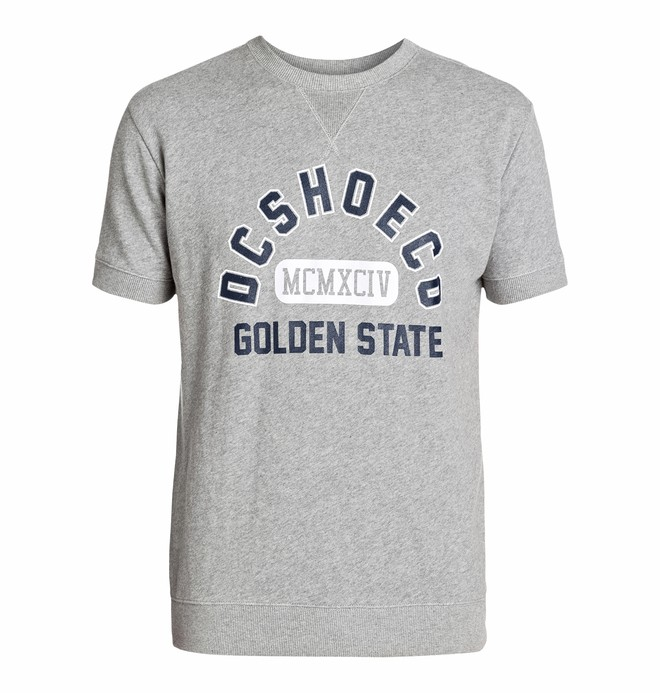 0 Men's Pepper Short Sleeve Crew Sweatshirt  EDYSF03055 DC Shoes