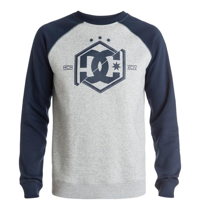 0 Men's Hepta Raglan Crew Sweatshirt  EDYSF03078 DC Shoes