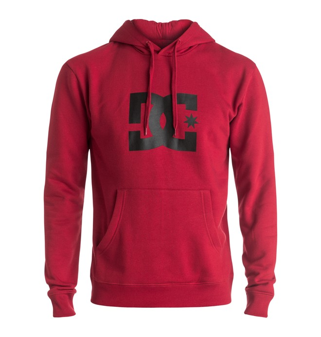 0 Star - Sweatshirt Red EDYSF03107 DC Shoes