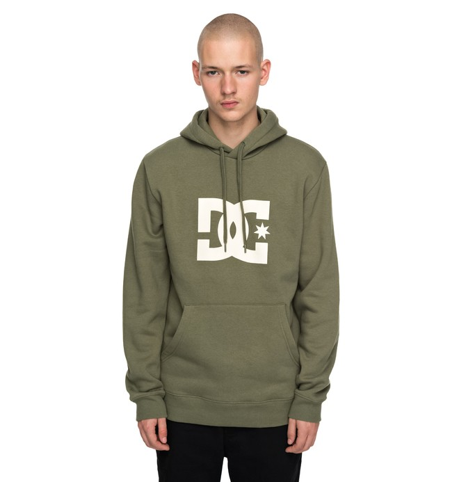 0 Men's Star Hoodie Green EDYSF03107 DC Shoes