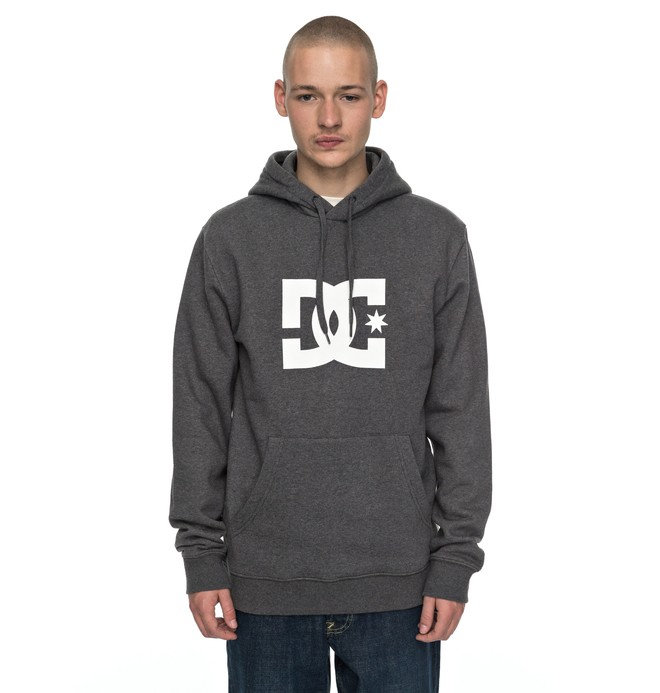 0 Star - Sweat Gris EDYSF03107 DC Shoes