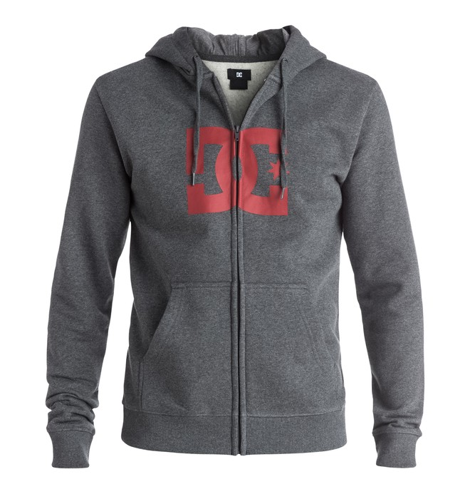 0 Star - Full-zip hoodie Black EDYSF03108 DC Shoes