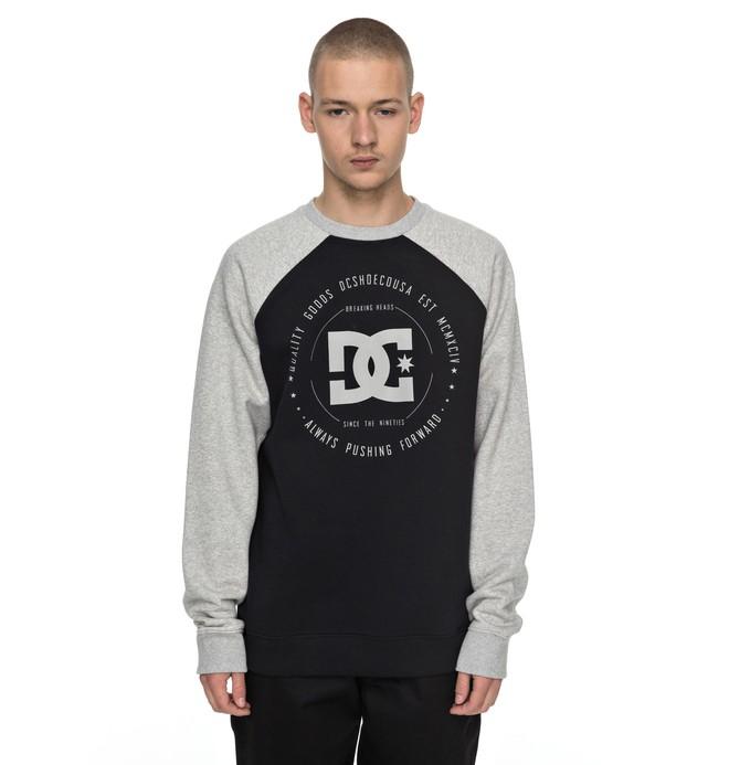 0 Rebuilt Raglan - Sweatshirt Black EDYSF03122 DC Shoes