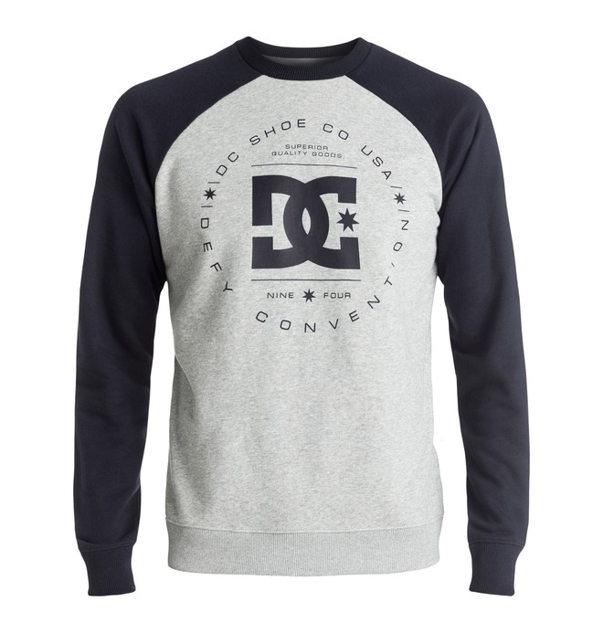 0 Rebuilt Raglan - Sweatshirt Blue EDYSF03122 DC Shoes