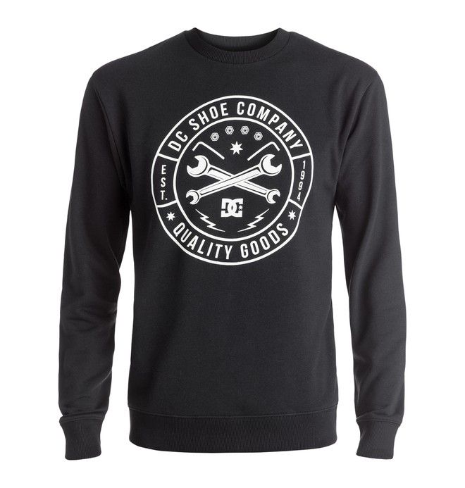 0 Equipment - Sweatshirt Black EDYSF03126 DC Shoes