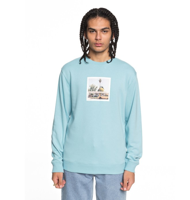 0 Men's Viajero Sweatshirt Blue EDYSF03163 DC Shoes