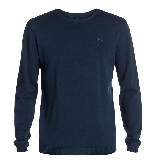 0 Men's Sabotage Sweater Blue EDYSW03003 DC Shoes