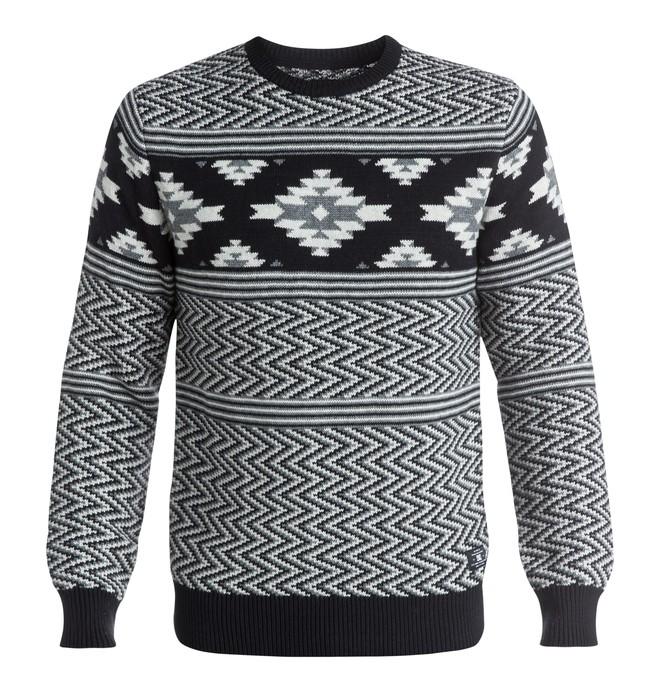 0 Laurell Park - Jacquard Sweater Black EDYSW03021 DC Shoes