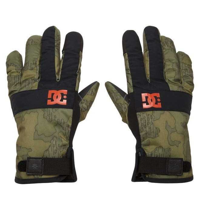 0 Men's Antuco 15 Gloves Green EDYTH00002 DC Shoes
