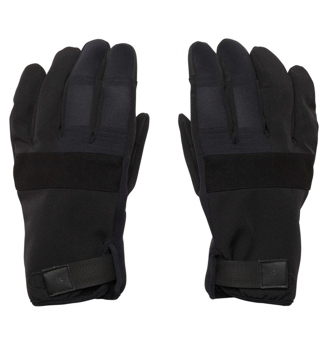 0 Men's Antuco 15 Gloves Black EDYTH00002 DC Shoes