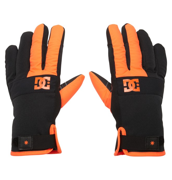 0 Men's Antuco 15 Gloves Orange EDYTH00002 DC Shoes