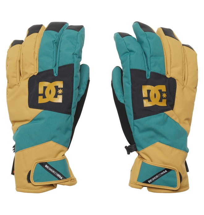 0 Men's Seger 15 Gloves Green EDYTH00007 DC Shoes