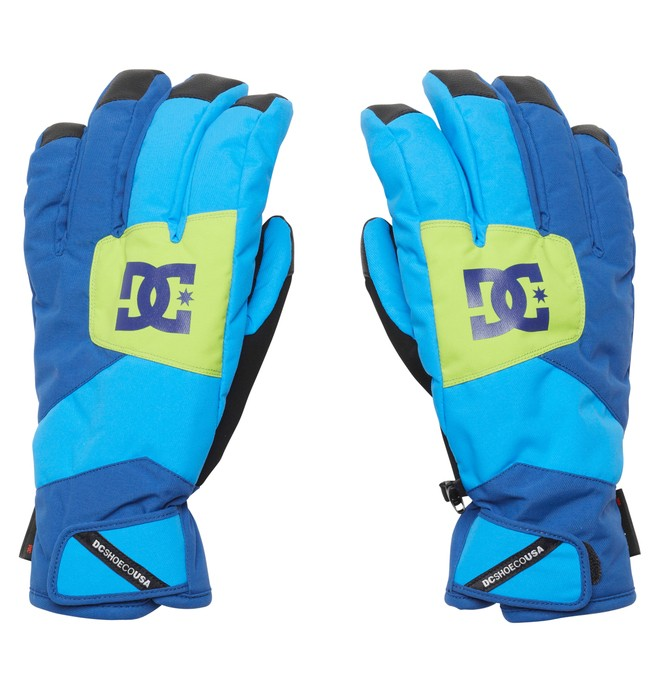 0 Men's Seger 15 Gloves Purple EDYTH00007 DC Shoes