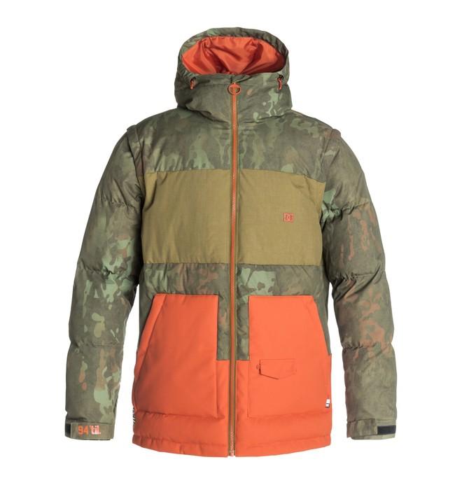 0 Men's Downhill Snow Jacket Brown EDYTJ03001 DC Shoes