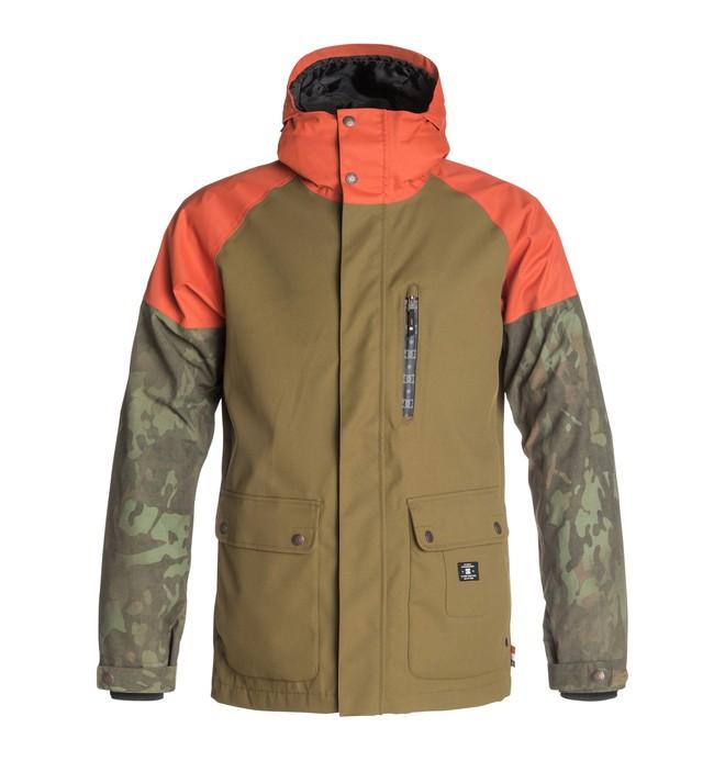 0 Men's Clout Snow Jacket  EDYTJ03004 DC Shoes