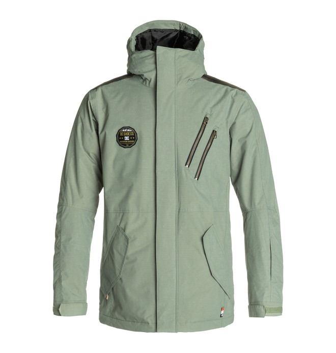 0 Men's Camp Snow Jacket  EDYTJ03011 DC Shoes