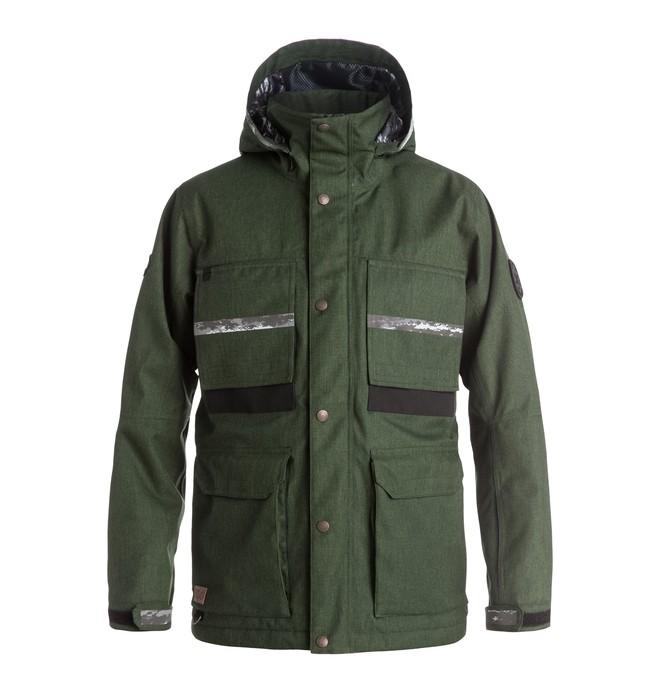 0 Men's Company SPT Snow Jacket Brown EDYTJ03020 DC Shoes