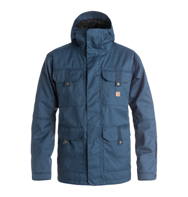 0 Servo - Snow Jacket Blue EDYTJ03022 DC Shoes