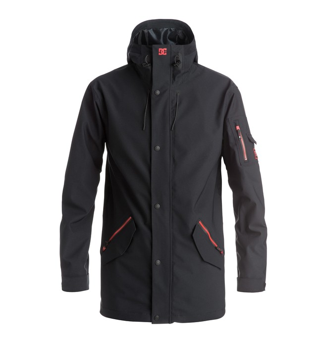 0 Torstein Corruption - Snow Jacket Black EDYTJ03028 DC Shoes