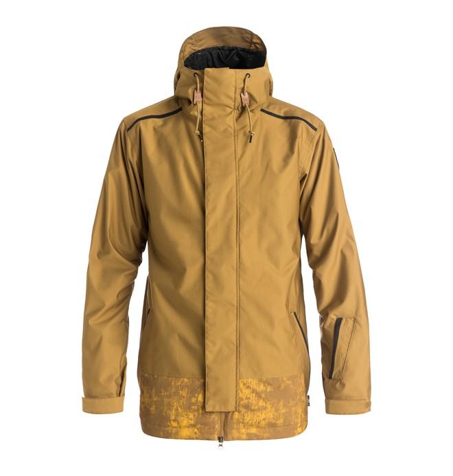 0 Men's Haven Snow Jacket Brown EDYTJ03032 DC Shoes
