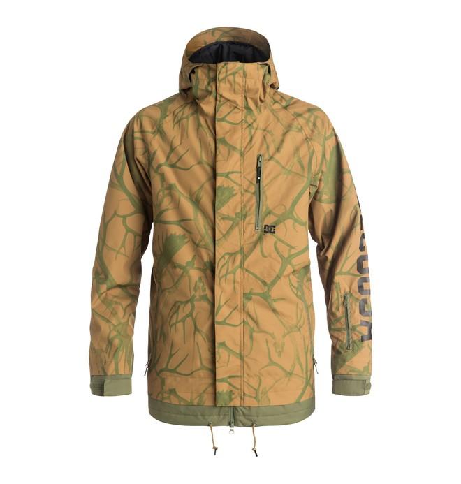 0 Men's Ripley Snow Jacket Brown EDYTJ03033 DC Shoes