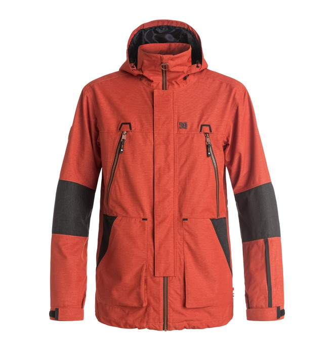 0 Command - Snow Jacket Red EDYTJ03034 DC Shoes