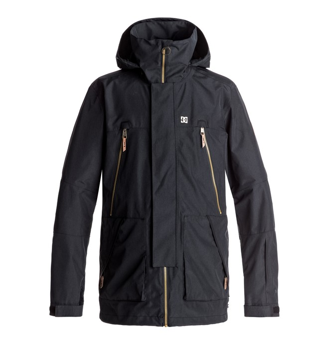 0 Command - Snow Jacket Black EDYTJ03038 DC Shoes