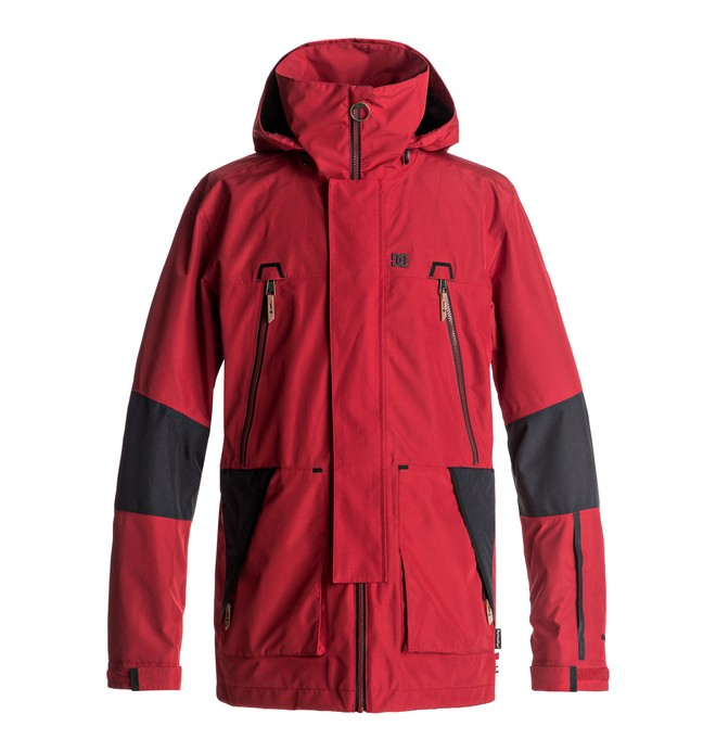 0 Command - Snow Jacket Red EDYTJ03038 DC Shoes