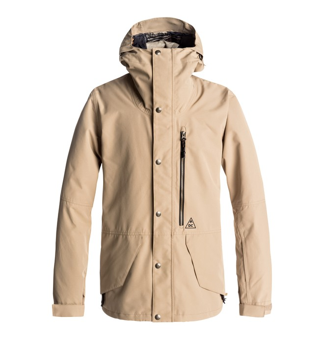 0 Outlier - Snow Jacket Brown EDYTJ03040 DC Shoes