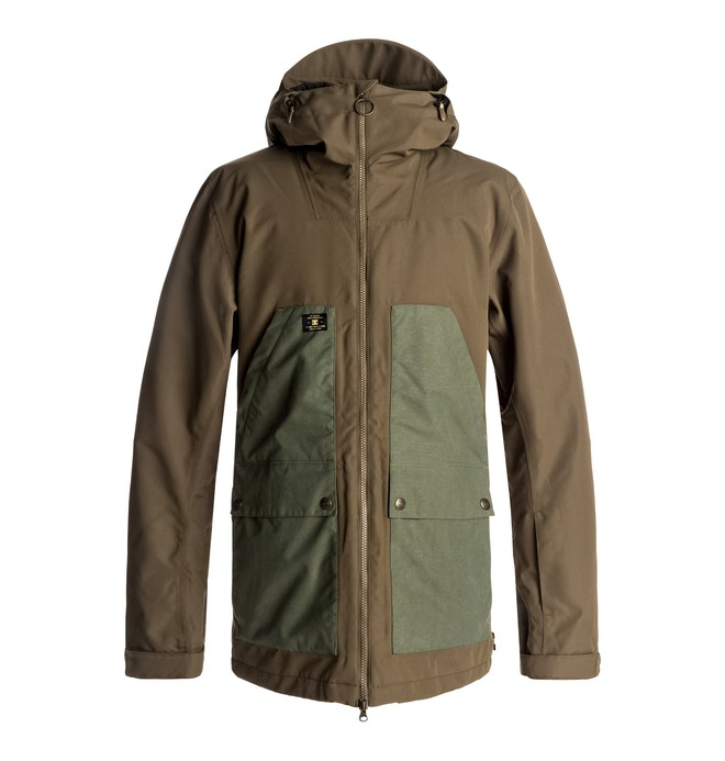 0 Summit - Snow Jacket Green EDYTJ03041 DC Shoes