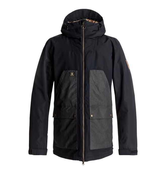 0 Summit - Veste de snow Noir EDYTJ03041 DC Shoes