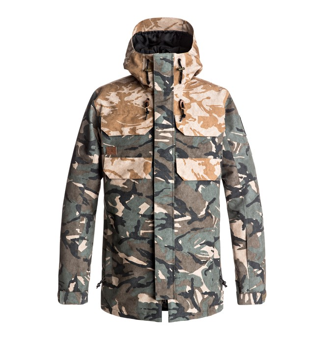 0 Haven - Snow Jacket Brown EDYTJ03042 DC Shoes