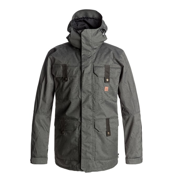 0 Servo - Snow Jacket Black EDYTJ03043 DC Shoes