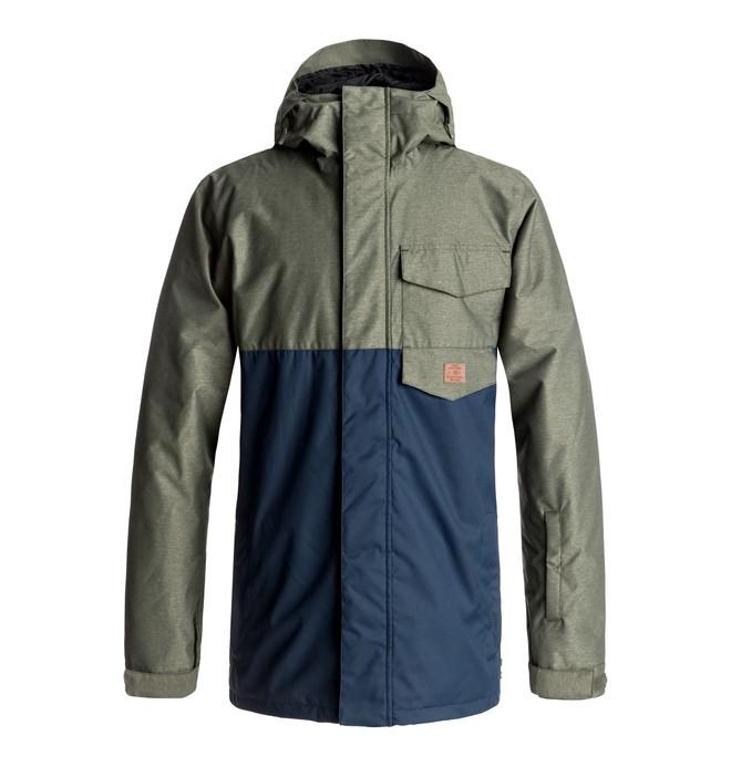 0 Men's Merchant Snow Jacket Green EDYTJ03044 DC Shoes